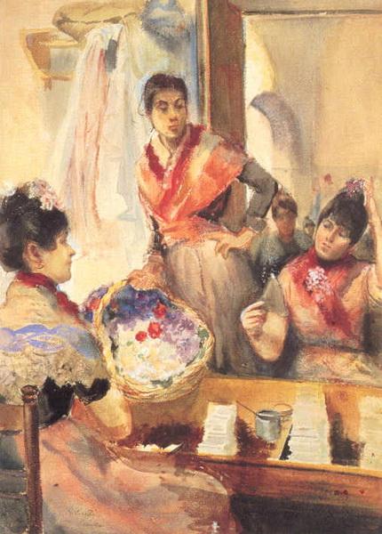 Ralph Curtis - Cigarreras in Seville