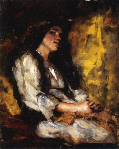 Ralph Curtis - Portrait of a Lady 2