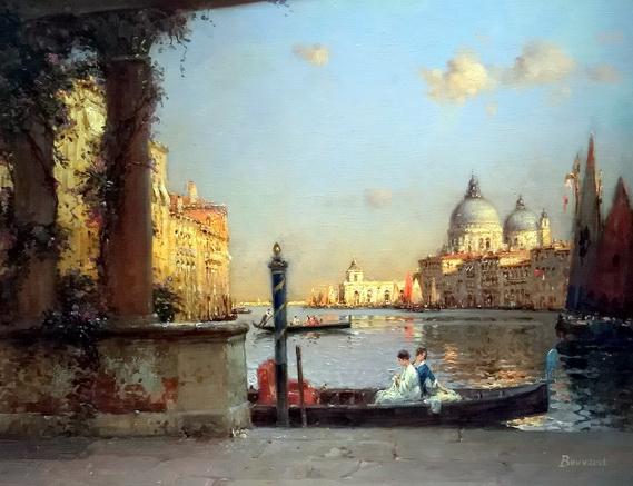 Antoine Bouvard (Marc Aldine)  - On the Grand Canal, Venice
