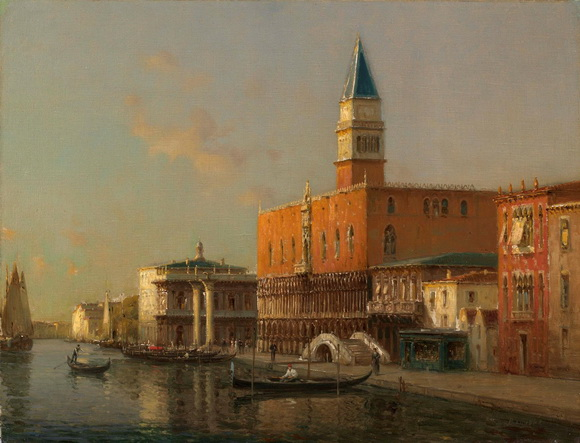 Antoine Bouvard (Marc Aldine)  - The Doge's Palace, Venice