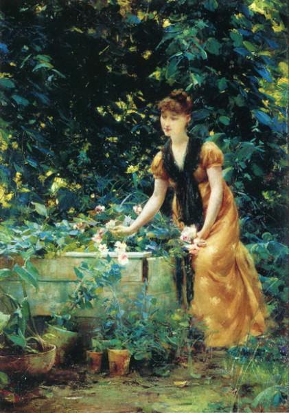francis coates jones - In the Garden