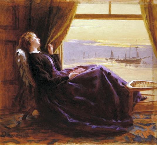 George Elgar Hicks - В вечернее время