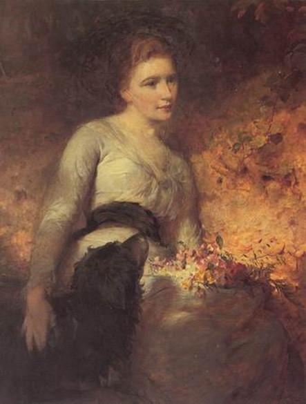 George Elgar Hicks - Jane Isabella