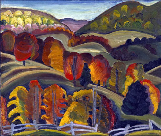 Prudence Heward - Autumn Hills