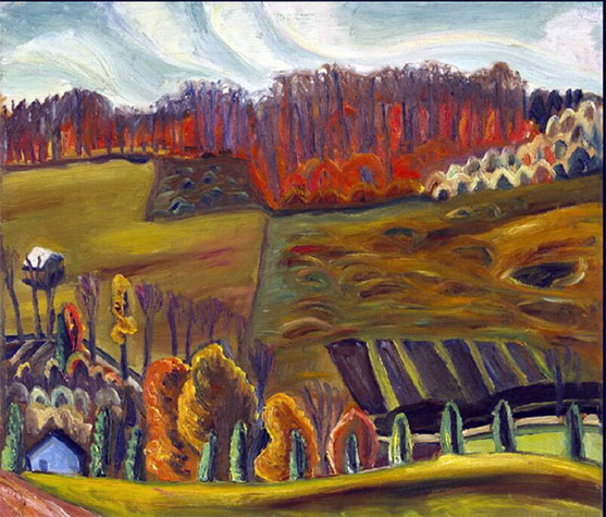Prudence Heward - Autumn Fields