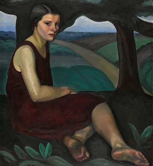 Prudence Heward - Girl on a Hill