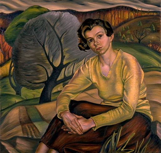Prudence Heward - Girl in Yellow Sweater