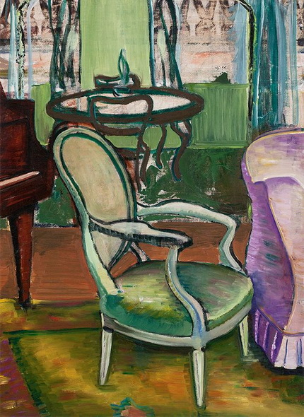 Prudence Heward - Study of the Drawing Room