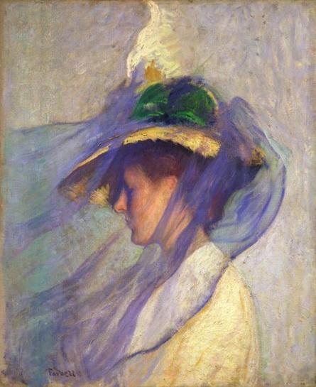 The Blue Veil Edmund Tarbell