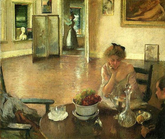 Edmund Tarbell  The Breakfast Room