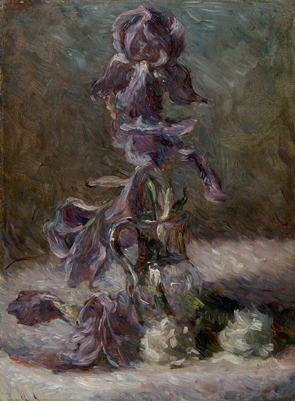 Marie Bracquemond - iris in a vase