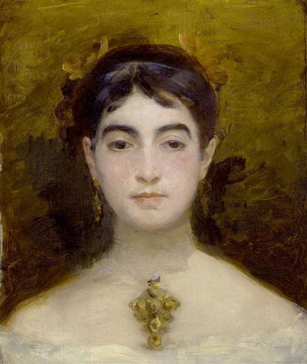 Marie Bracquemond - self-portrait