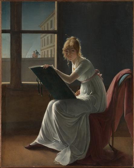Marie Bracquemond - Portrait of mademoiselle Charlotte