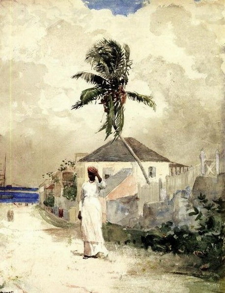 homer winslow - Along the Road, Bahamas