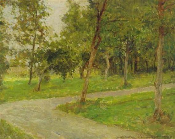 Nicolae Vermont - Baumen gesaumt