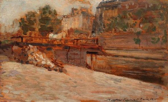 Nicolae Vermont - Pod peste Sena