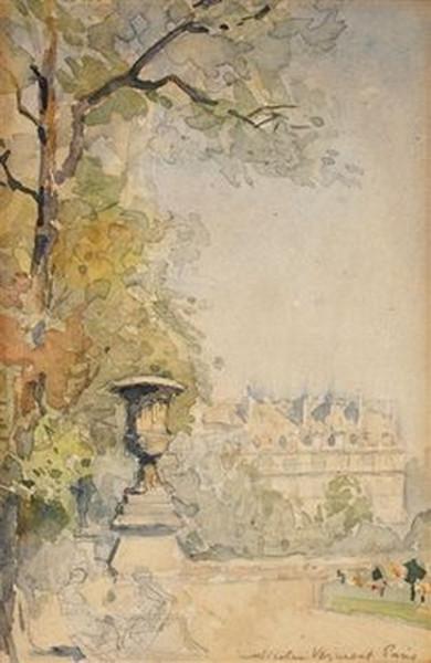 Nicolae Vermont - Gradinile Tuileries