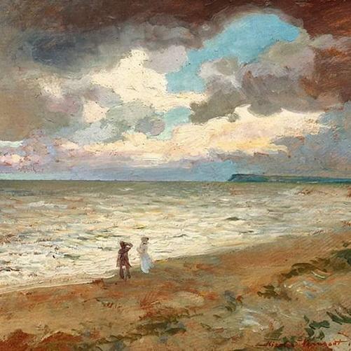 Nicolae Vermont - Seaside promenade