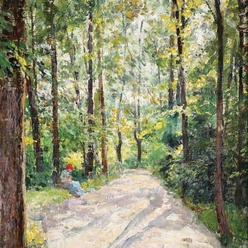 Nicolae Vermont -   In parc