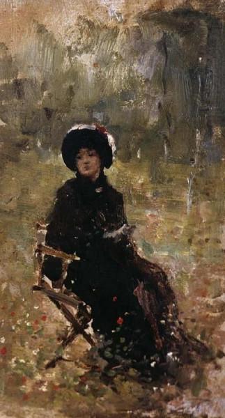 Nicolae Grigorescu - In the Garden