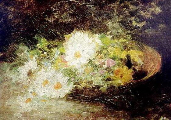 Nicolae Grigorescu - May Lillies