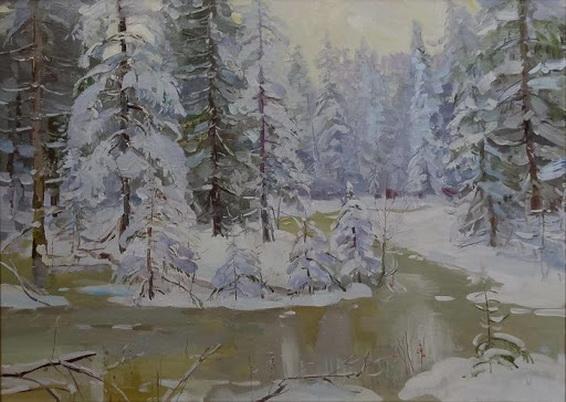 Корзняков - На таежном ручье