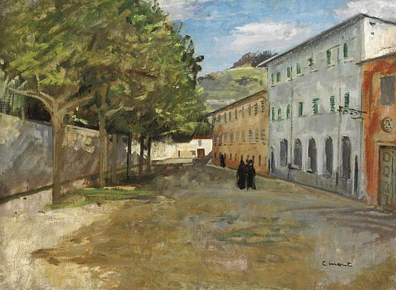 Cesare Monti - La via dei conventi a Bellano