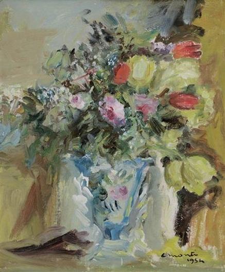 Cesare Monti - Composizione floreale