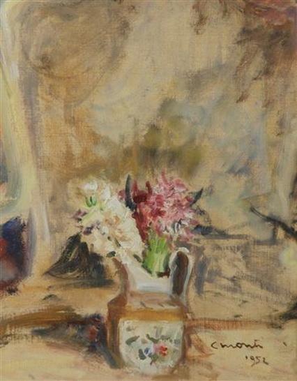 Cesare Monti - Vaso fiorito