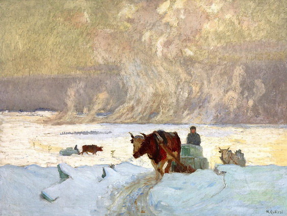 Maurice Galbraith Cullen - The Ice Harvest
