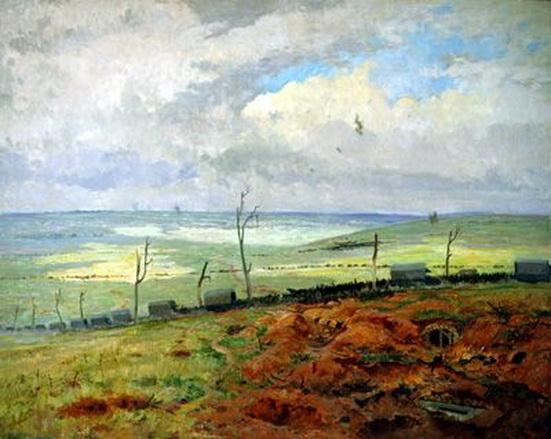 Maurice Galbraith Cullen - The Cambrai Road