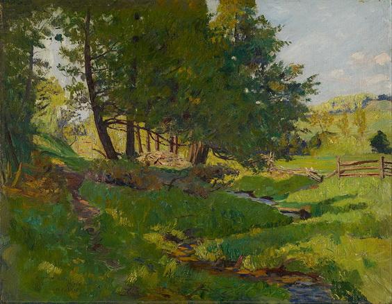 Maurice Galbraith Cullen - Summer near Beaupre