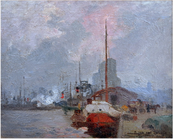 Maurice Galbraith Cullen - Montreal arbour - 1904