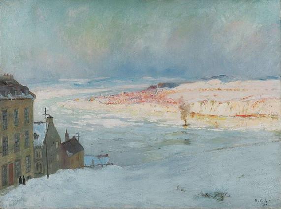 Maurice Galbraith Cullen - Levis from Quebec