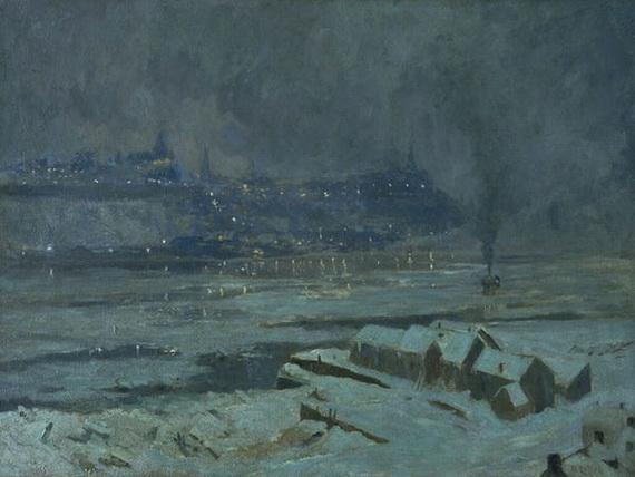 Maurice Galbraith Cullen - Ice Breaking, L'Assomption