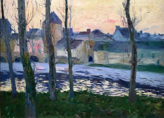 Maurice Cullen - Vue de Moret-sur-Loing