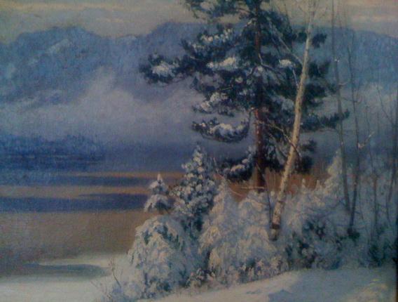 Maurice Galbraith Cullen - Snowfall, Lac Tremblant