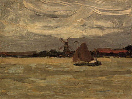 James W. Morrice - The Estuary