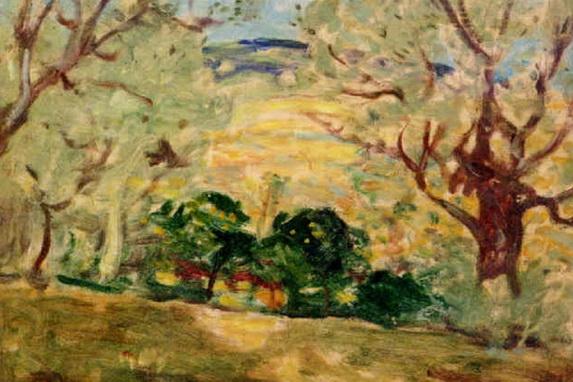 James W. Morrice - Landscape, Brittany