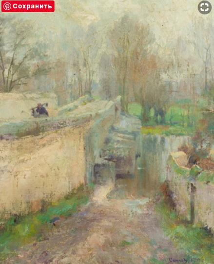 Robert Vonnoh  - Return from the Garden