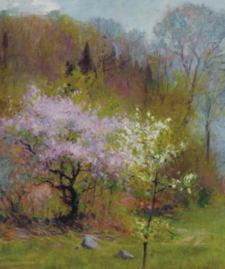 Robert Vonnoh  - Spring trees