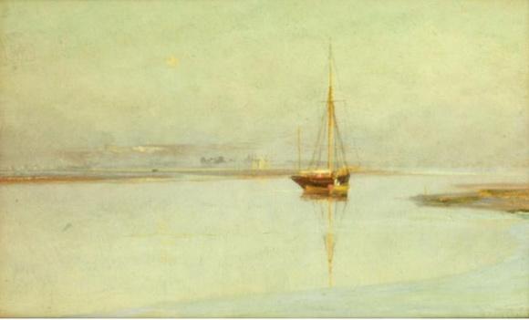 Charles William Wyllie - Eventide