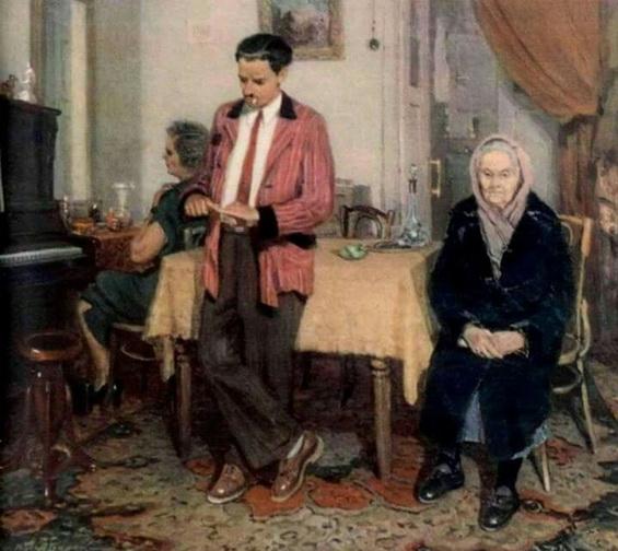 Бурак Александр Филиппович - К сыну  за помощью