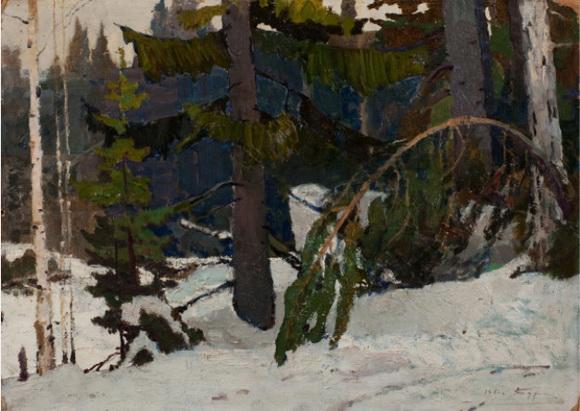 Бурак Александр Филиппович - В уральской тайге