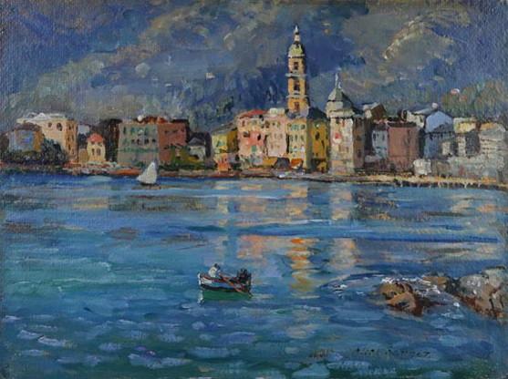 alice maud fanner - Lake Garda