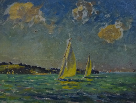 alice maud fanner -  Yachts off the Coast