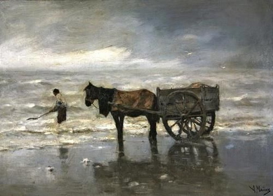 Anton Mauve - Horse and Cart Giclee