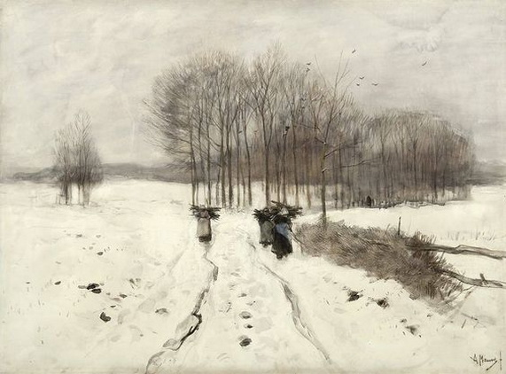 Anton Mauve - The Wood-Gatherers