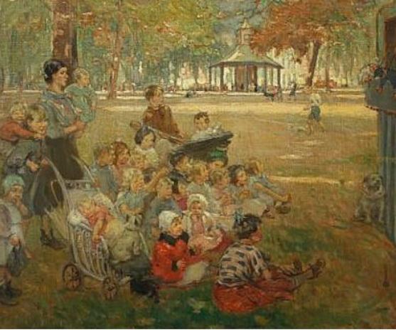 Ernest Borough Johnson - Hyde Park