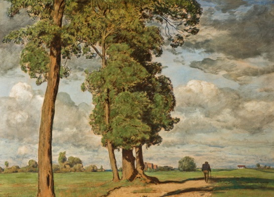 Hans Thoma - (spring landscape